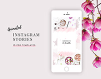 Tara Animated Instagram Stories PSD