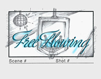 """Free Flowing"" (spec commercial) storyboards"