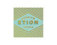 Etion Vodka Branding and Packaging