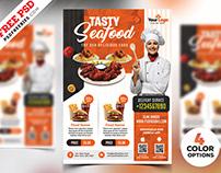 Restaurant Flyer Templates Free PSD