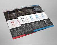 Freebie Ectro Corporate Flyer PSD Template