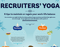 Infographic Work-life balance