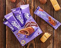 Photo session Milka Crunchy Break