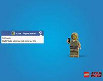 Anúncio para Lego Star Wars