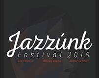 Jazzúnk - festival poster