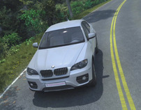 BMW X6 - CG animation 2009 (breakdown)