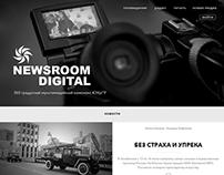 Newsroom concept