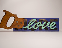MORE LOVE • HANDSAW