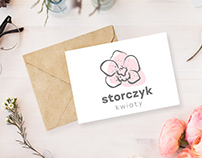 Logo design for flower shop