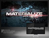 "Drew Thomas Magic ""Materialize"": Creative Direction"