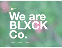 BLXCK Co. Website