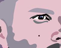 Portrait of Brandon Flowers - Adobe Illustrator