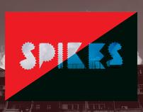 Spikes Font Handset