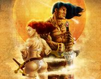 Conan & Red Sonja