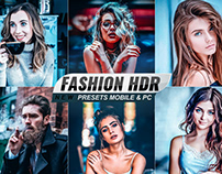 FASHION HDR PHOTO EFFECTS