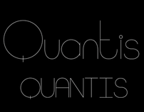 Quantis Typeface Design