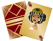 Playing Cards: Art Deco