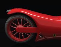 Proyecto de modelado y render. Ferrari