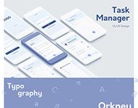 Task Manager Mobile Design