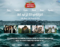 StellaScreen Website design