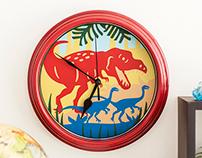 T-Rex Clock