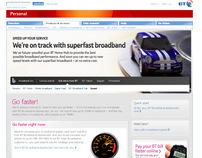 BT Website
