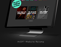 ALOFT Hotel Website
