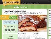 Daily Deals Website