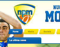 N.P. Monteroni - Basket website