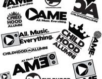 Childhood Alumni/All Music Everything (AME) Logos