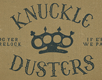 KNUCKLE DUSTERS