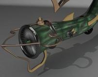 3D Submarine plane
