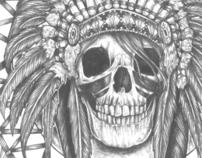 Skull Dream Catcher Shirt