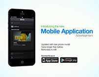 Mobile Application Advertisement