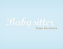 Babysitter Website