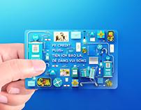 FE CREDIT CARD- 3D PROJECT