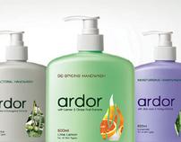 Ardor Handwash Brand & Packaging Development