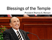 Blessings of the Temple Booklet