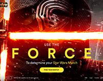 Spotify x Lucasfilm - Star Wars Match