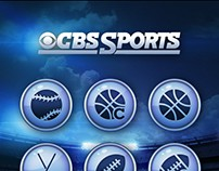 CBS Sports Wireframes for iPhone