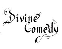 Divine Comedy lettering