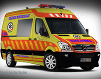 Hungarian ambulance car design