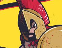 Spartan& Little red riding hood