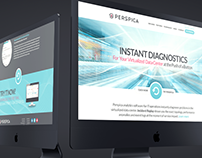 Perspica - Branding, Website, Collateral, Event Mktg