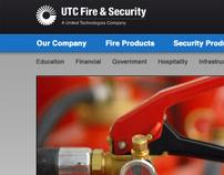 UTC Fire & Security Website