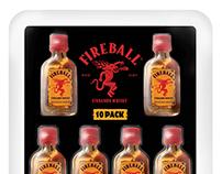 Fireball 10 Pack Package Design