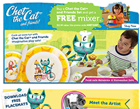 Chet the Cat™ and Friends Identity and Development