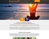 Website design and Development for Divine Blessing