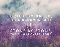 Brick by Brick Wallpaper