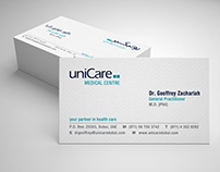 uniCare | Business Card